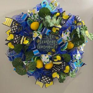 When life gives you lemons Wreath